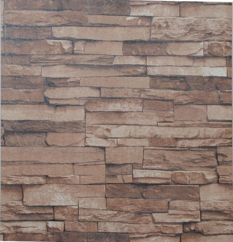 3d Effect Wallpaper For Living Room Nature Textured Embossed Stone Brick Wallpaper 3d Effect