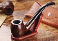 Ebony wood Smoking Pipes wood Tobacco Pipes Hand pipes VS ...