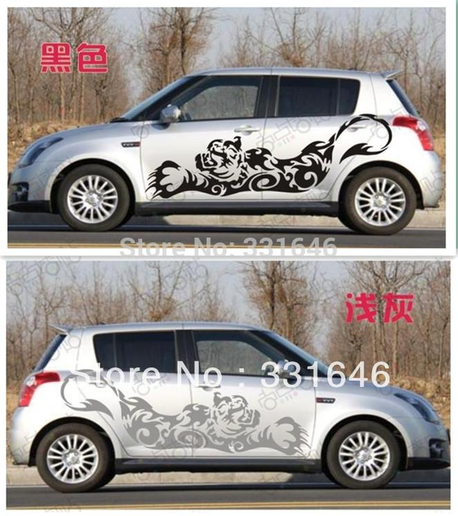 tiger-stickers-accessories-whole-body-carjpg (663×747) car - car for sale template