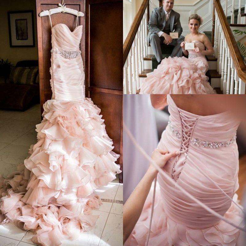 Large Of Blush Wedding Dress