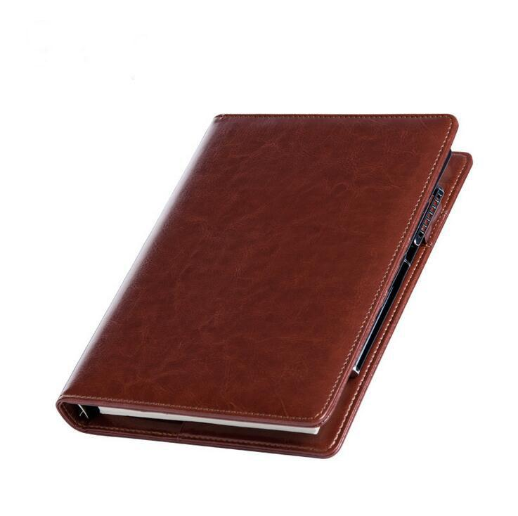 2016 New Design Binder Notebook A5 Fashion Faux Leather Business - notebook binder