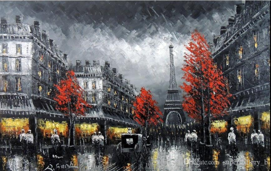 Canvas Hi Beautiful 3d Wallpaper Framed Paris Eiffel Tower Black Amp White Art 1890 S Scene