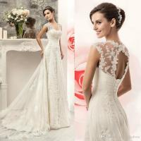 Discount Best Selling 2016 Lace Wedding Dresses Cheap Cap ...