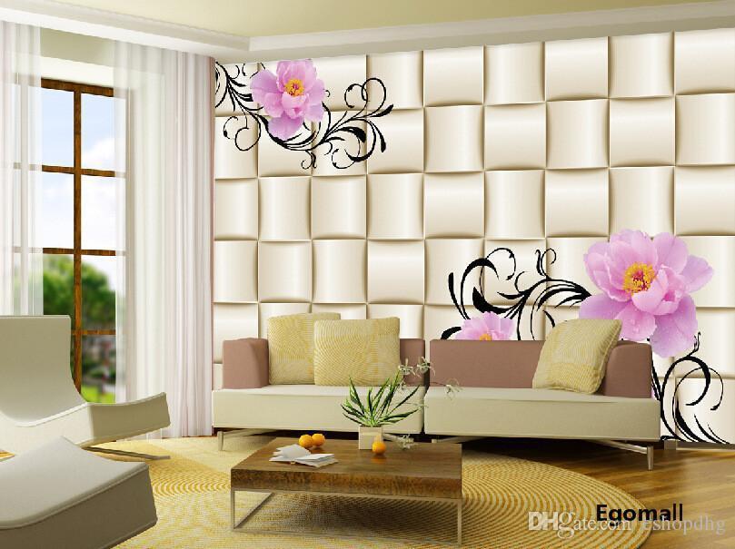 Simple Modern 3d Wallpaper The Living Room Bedroom Tv Background - 3d wallpaper for living room