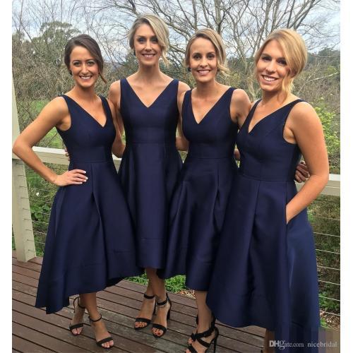 Medium Crop Of Navy Bridesmaid Dresses