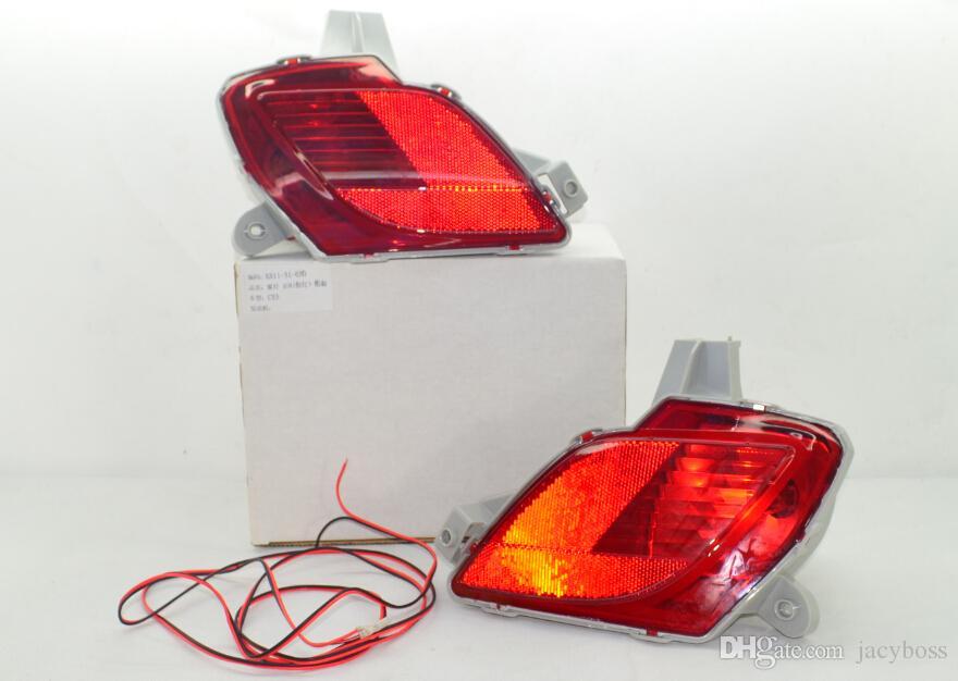 OEM Rear Bumper Fog Lights Lamp  Harness Kit For 2013 2016 Mazda CX