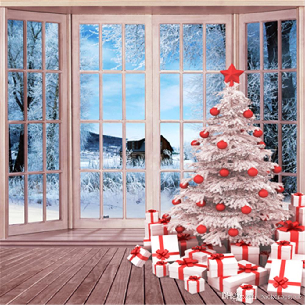 2019 Beautiful Winter Snow Outside Window White Christmas