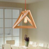 New Modern Art Wooden Ceiling Light Pendant Lamp Lighting ...