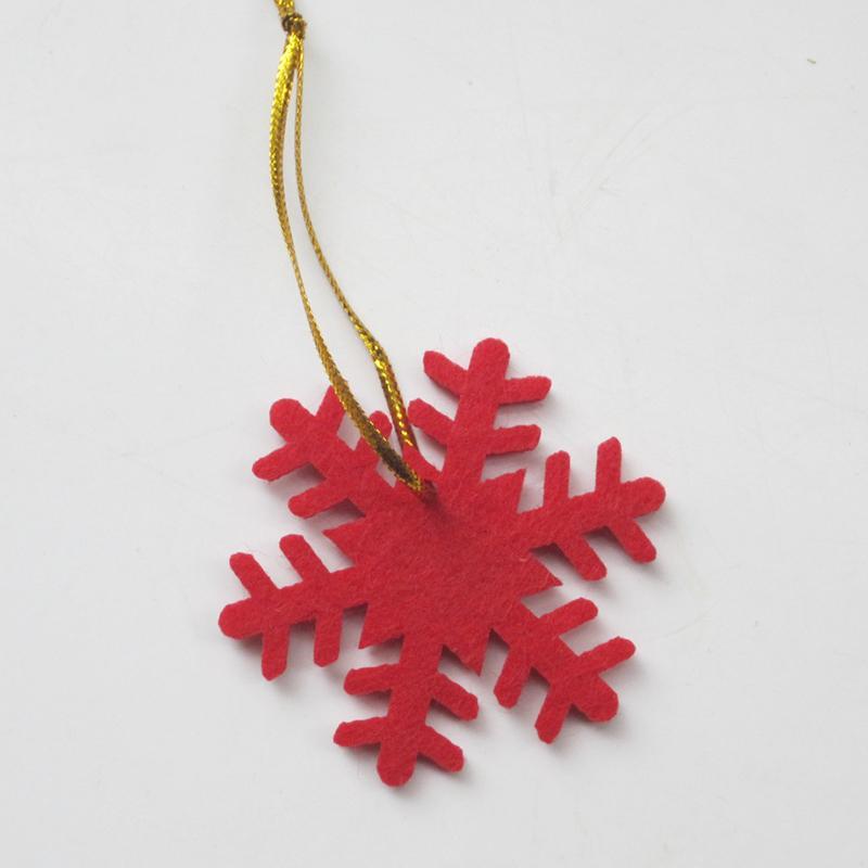 Christmas Decorations Felt Christmas Tree Pendant Ornaments Snow - felt christmas decorations