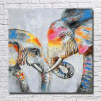 2017 Beautiful Elephant Wall Painting For Home Decoration ...