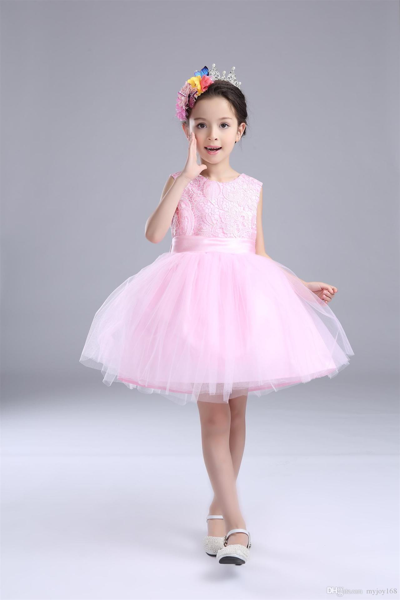 Beautiful Baby Girl Children Dresses Princess Bridesmaid