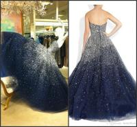 Navy Blue Puffy Quinceanera Dresses Ball Gowns 2016 ...