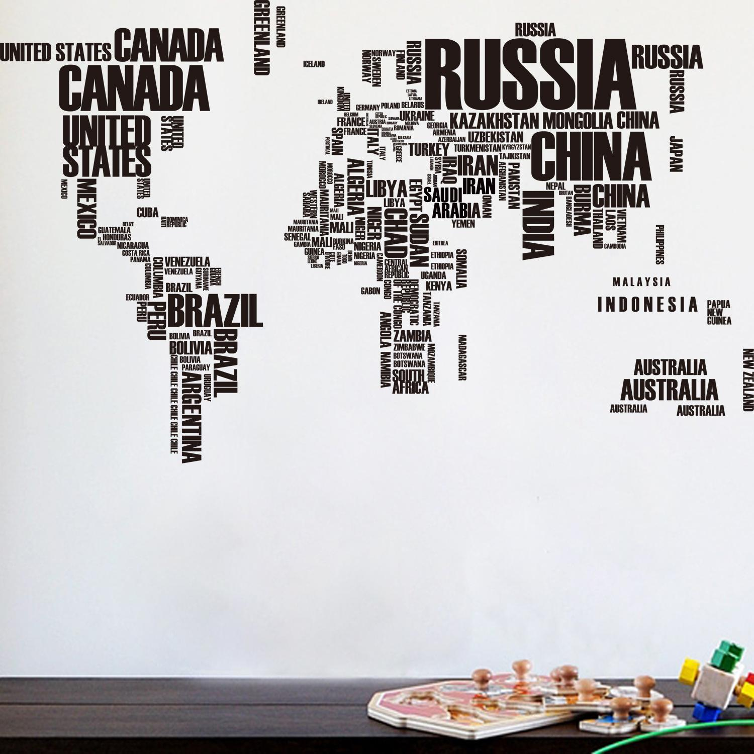 vinyl wall quotes australia art wall stickers poster letter world map download
