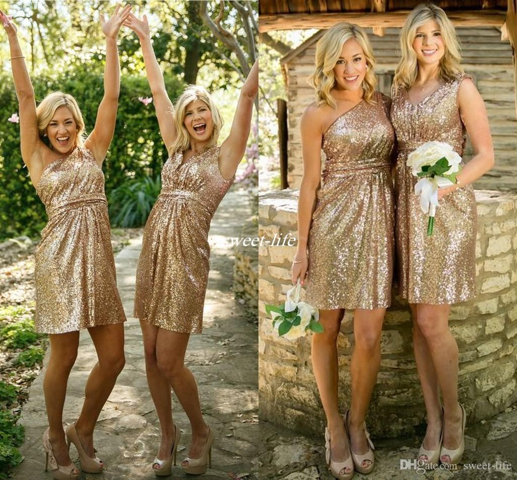 Fullsize Of Gold Bridesmaid Dresses