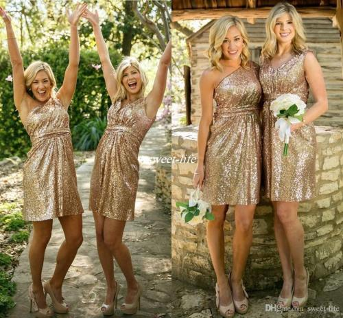 Medium Of Gold Bridesmaid Dresses