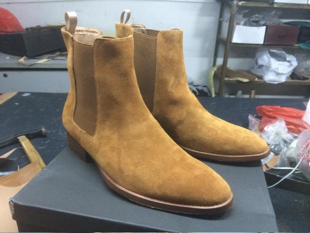 Man Slp Designer Ankle Chelsea Boots Casual Kanye West