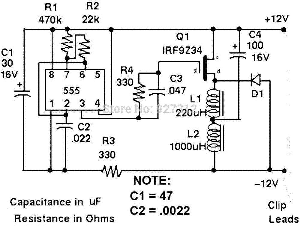 battery charger circuit 12v battery desulfator kit charger circuit