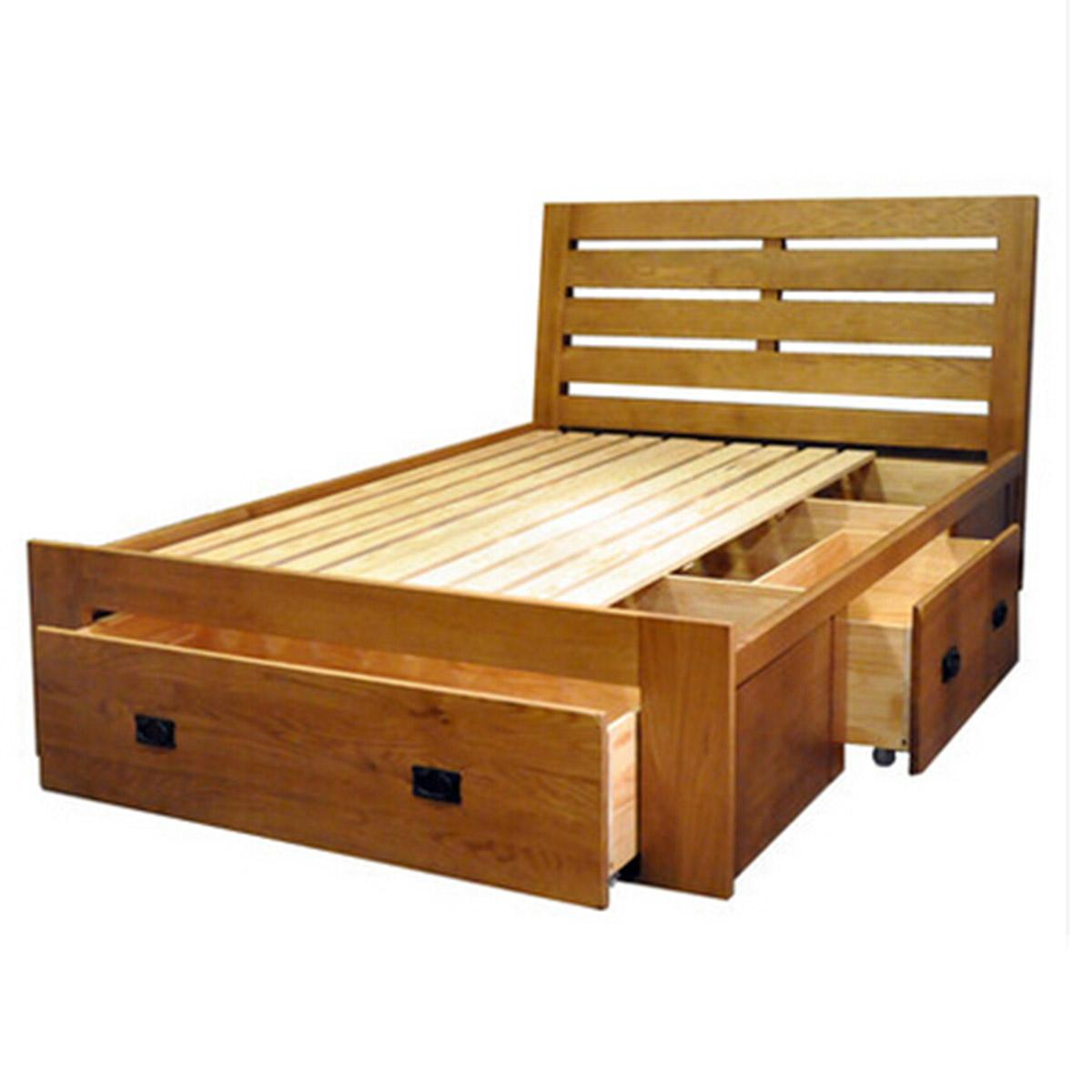 2017 huayi full solid wood furniture white oak bed box bed 1 5m 1 8m double bed with drawer storage bedroom furniture from wmaot 2412 07 dhgate com