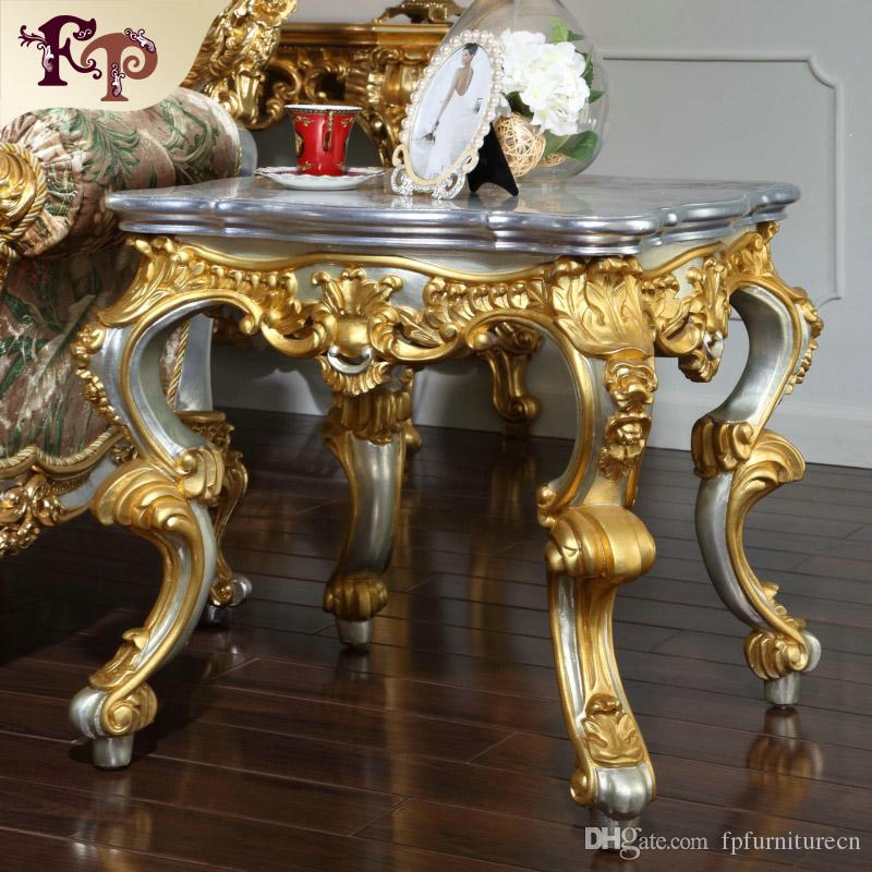 2017 Antique Baroque Living Room Furniture French Classic Coffee - antique living room sets