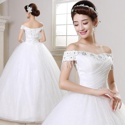 2016 New Ball Gown Wedding Dresses Korean Style Bride ...