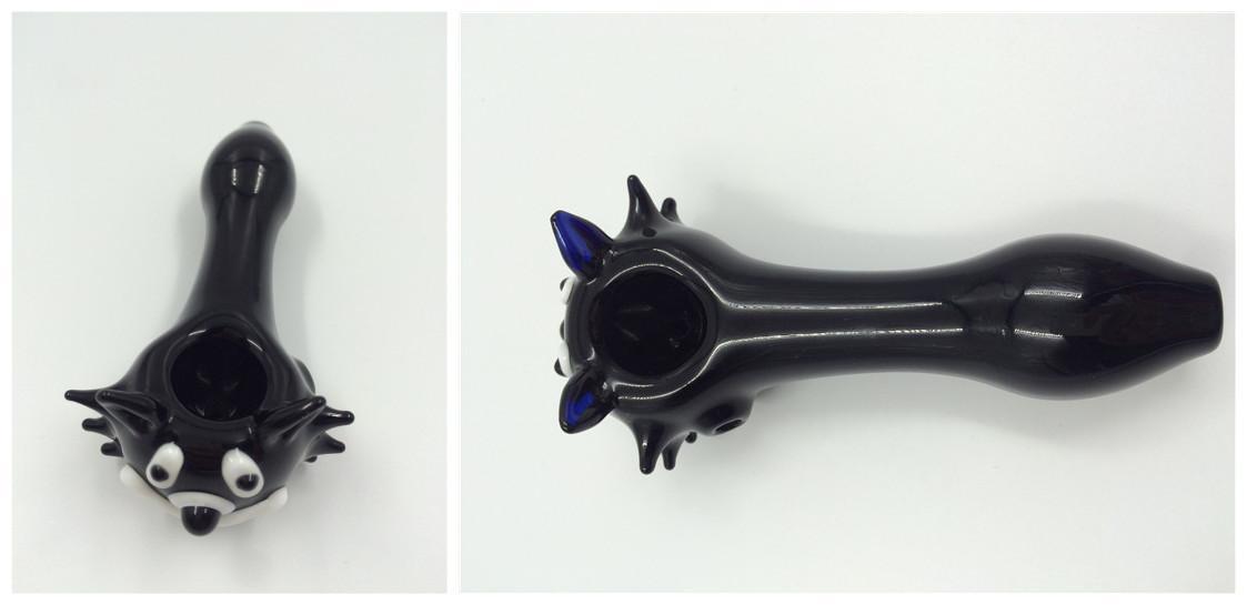 Best Black Cat Glass Pipe Mini Glass Pipes Glass Tobacco