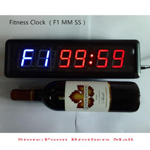 Medium Of Digital Wall Clock Modern