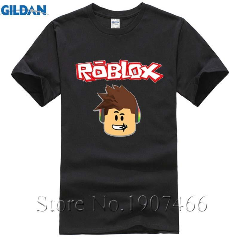 New 2017 Fashion Hot Shirt Printing Crewneck Mens Roblox Men T Shirt
