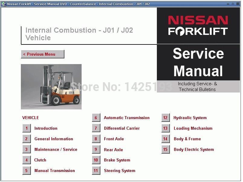 Forklift Repair Manuals Service Manuals Electrical Wiring Diagrams