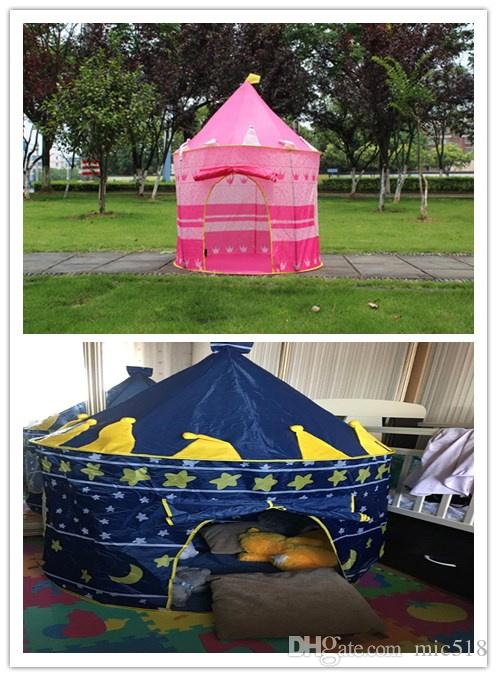Best Quality Portable Foldable Play Tent Prince Folding Tent Kids