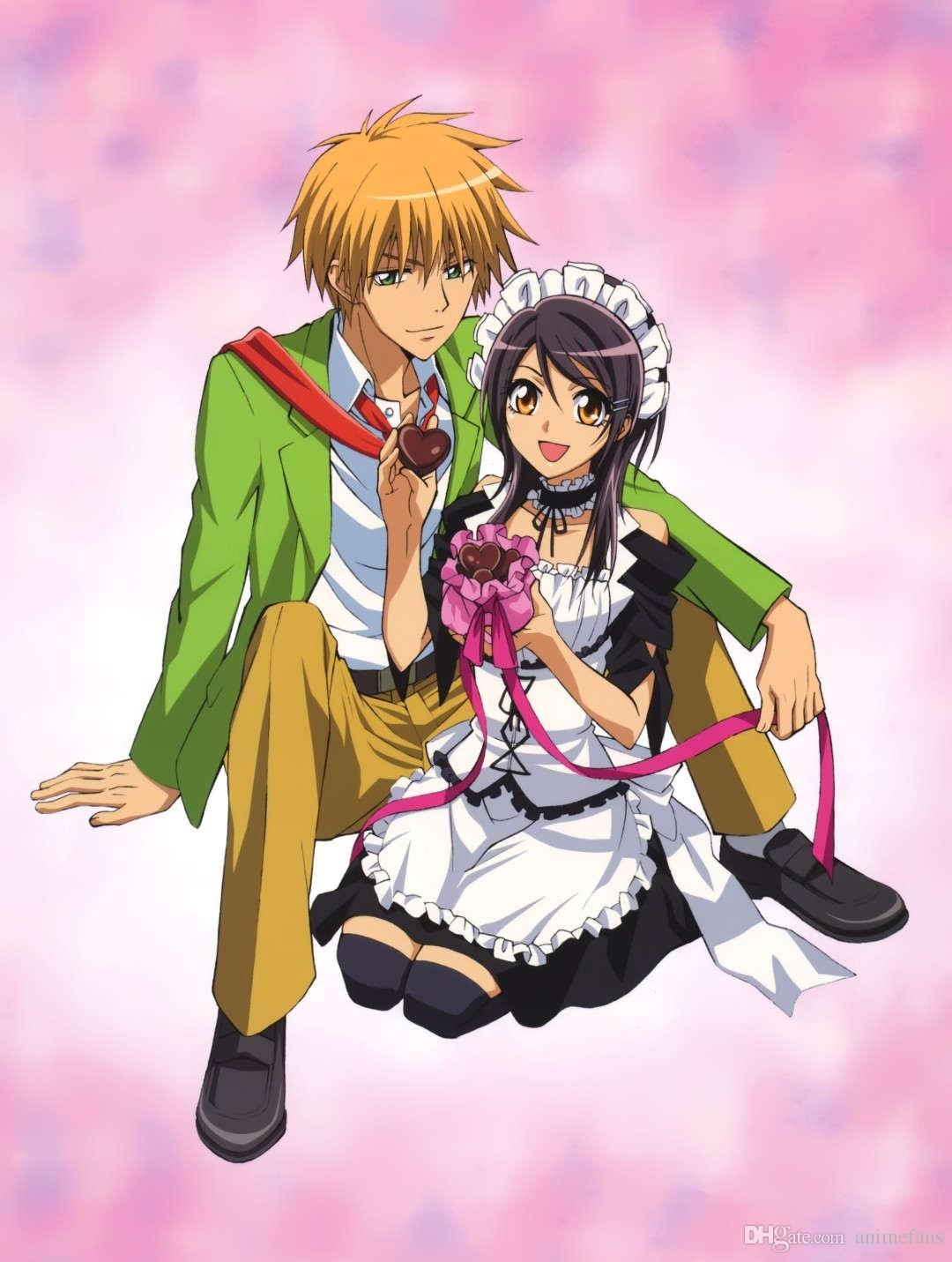 Cute Teal Wallpapers For Moms 150x200cm Hot Anime Maid Sama Characters Ayuzawa Misaki