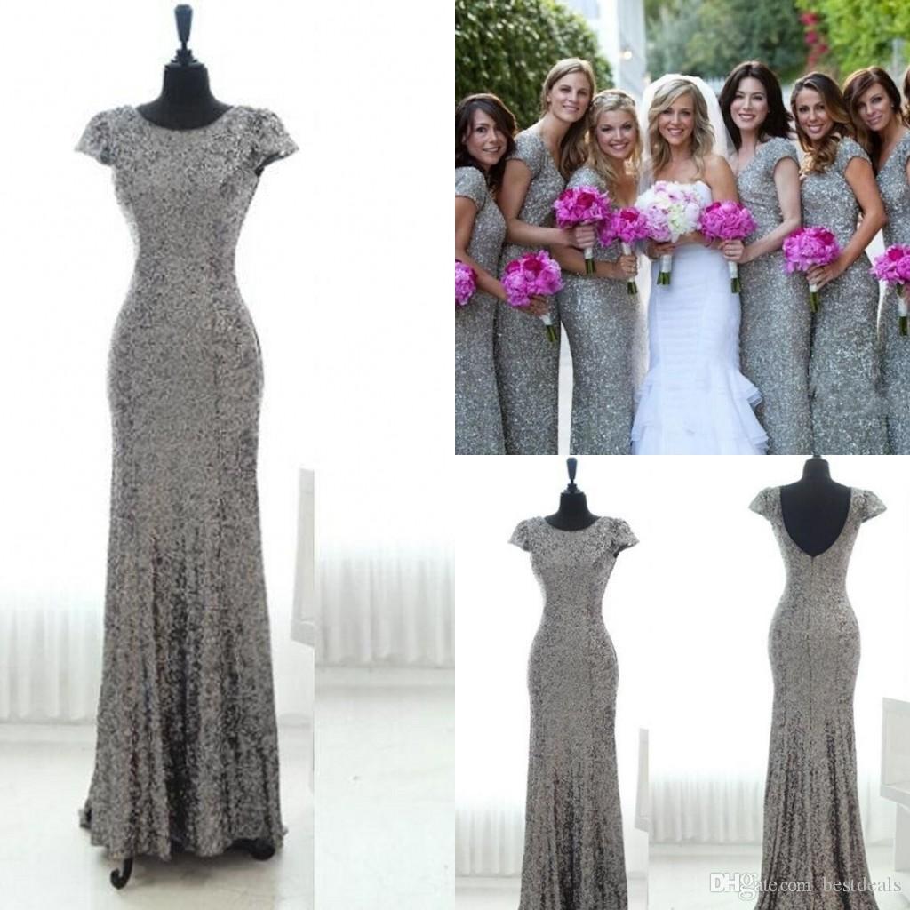 Sequin Junior Bridesmaid Dresses - raveitsafe