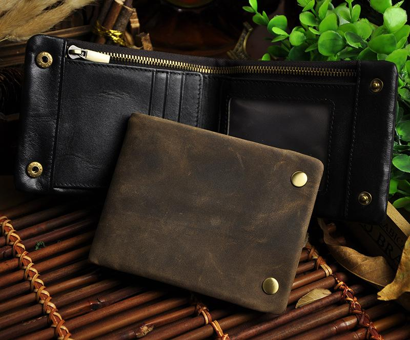 1314 Crazy Horse Leather Men Wallet Hot Sales Design Best