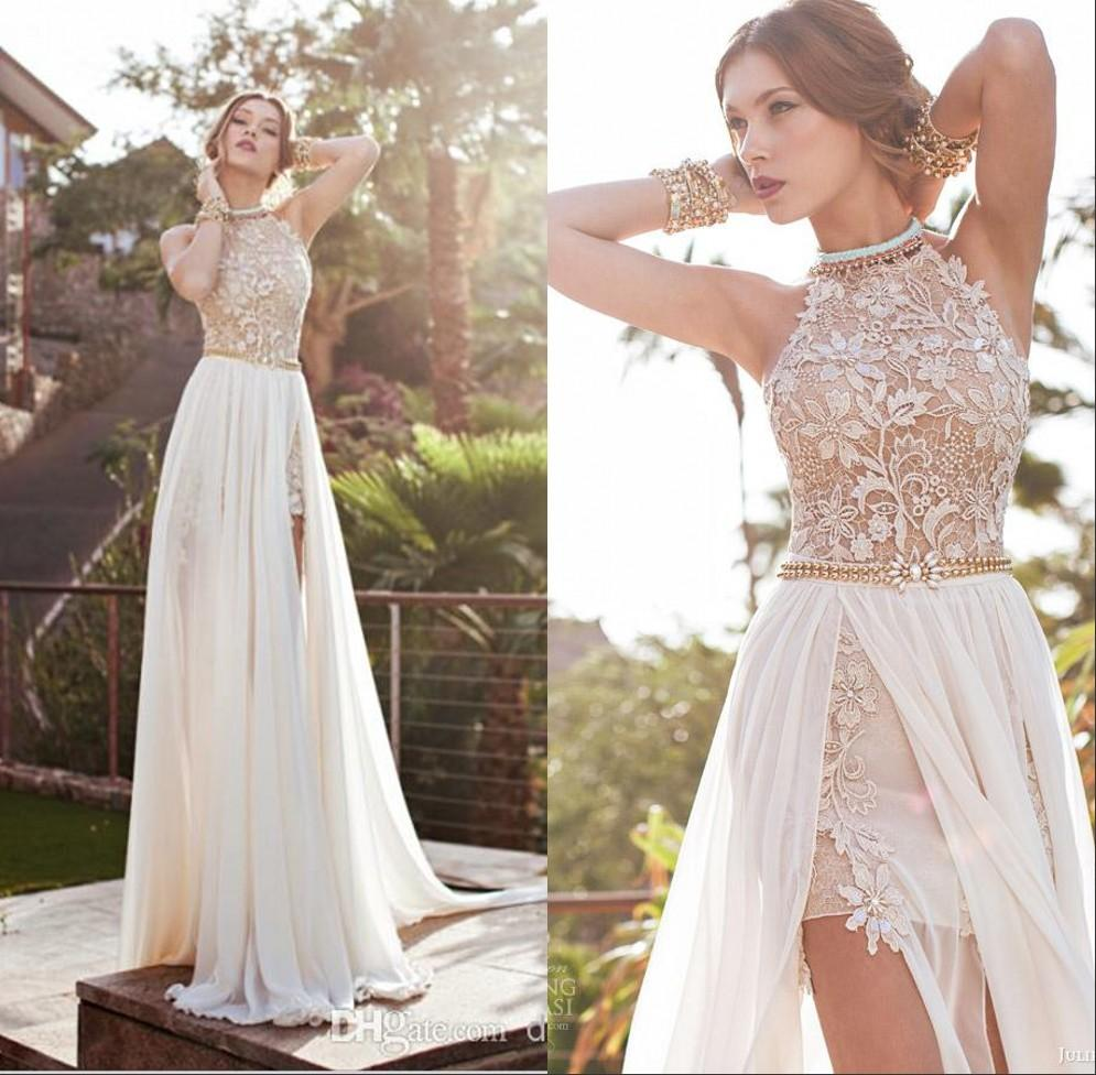 Examplary Lace Sexy Backless Beach Prom Dresses Beading Waist Length Splitevening Gowns Occasion Wear Cheap Size Prom Dresses Sparkle Promdresses Lace Sexy Backless Beach Prom Dresses Beading Waist Le wedding dress Floor Length Dresses