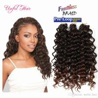 2018 Synthetic Deep Wave Style Freetress Water Wave Hair ...