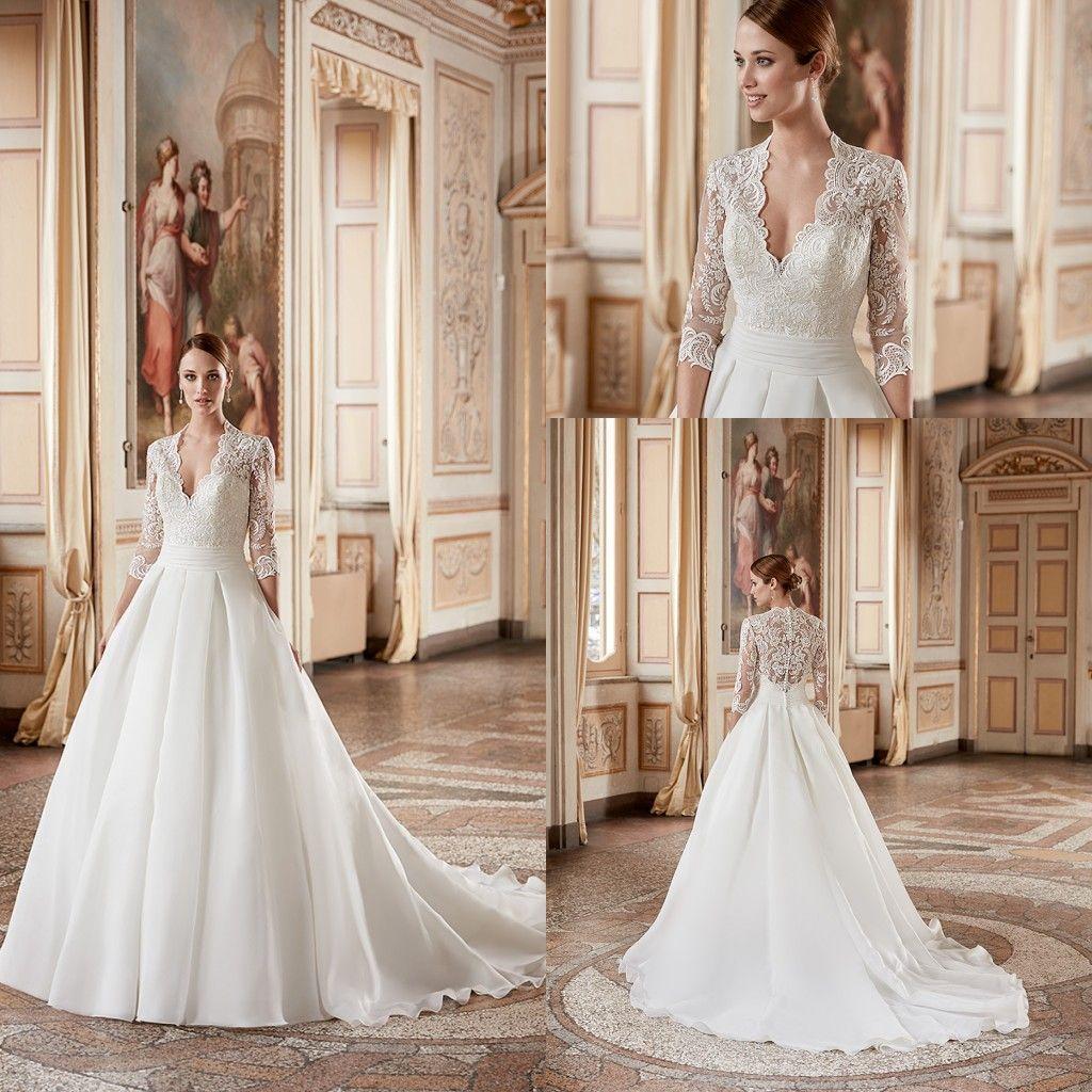 wedding dresses com classic wedding dress eddy k classic wedding dresses v neck 3 4 sleeve aline with pleats belt organza chinese style wedding gowns custom made ak