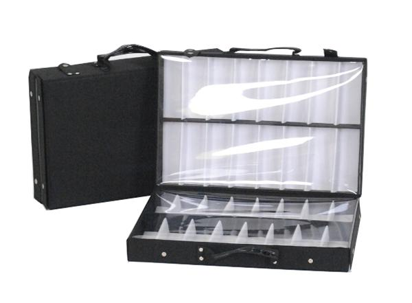 2019 Eyeglass Double Tray Sample Bag Display Storage Box