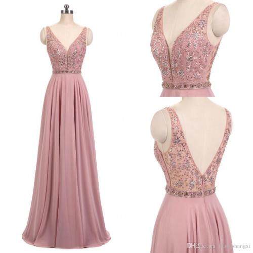Medium Of Blush Pink Dress
