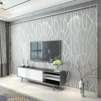 Modern Minimalist Non Woven Wallpaper, Living Room Tv ...