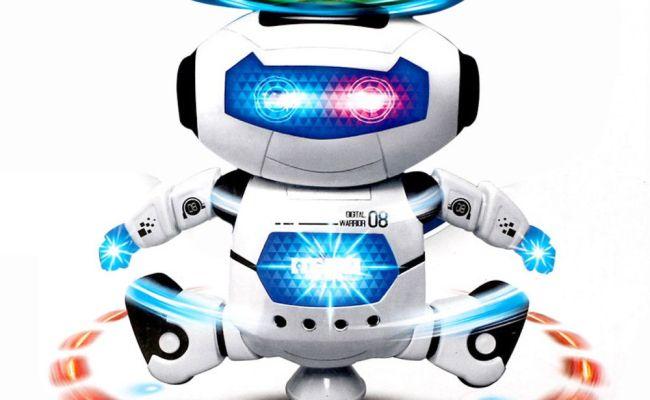 2019 Children Electronic Walking Dancing Smart Space Robot