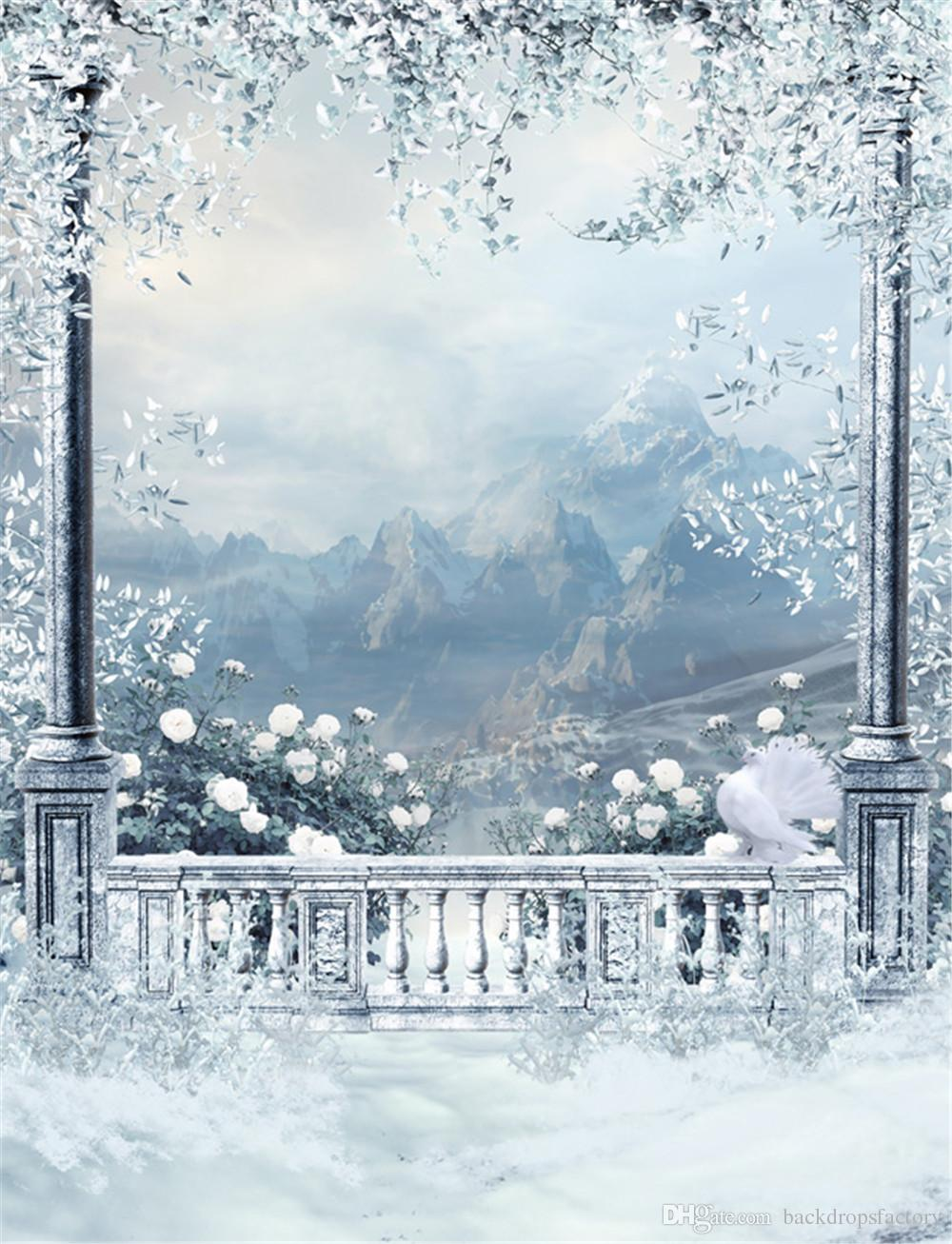 Falling Snow Wallpaper Note 3 2019 Winter Snow Scenic Wallpaper Outdoor Background White