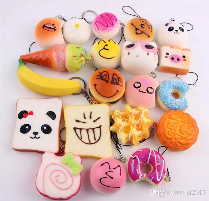 rilakkuma squishy donut