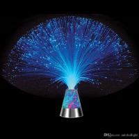 2019 Lava Lamp Fiber Optic Lamp Colour Changing Crystal ...
