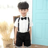 Kids Suspenders And Bow Ties Set Girls High Elastic Y Back ...