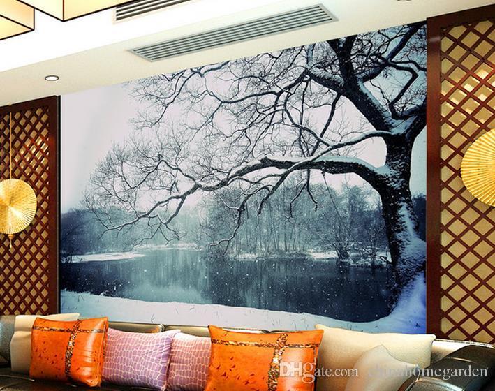 Beautiful 3d Feng Shui Tree Living Room Tv Wall Mural 3d Wallpaper - 3d wallpaper for living room