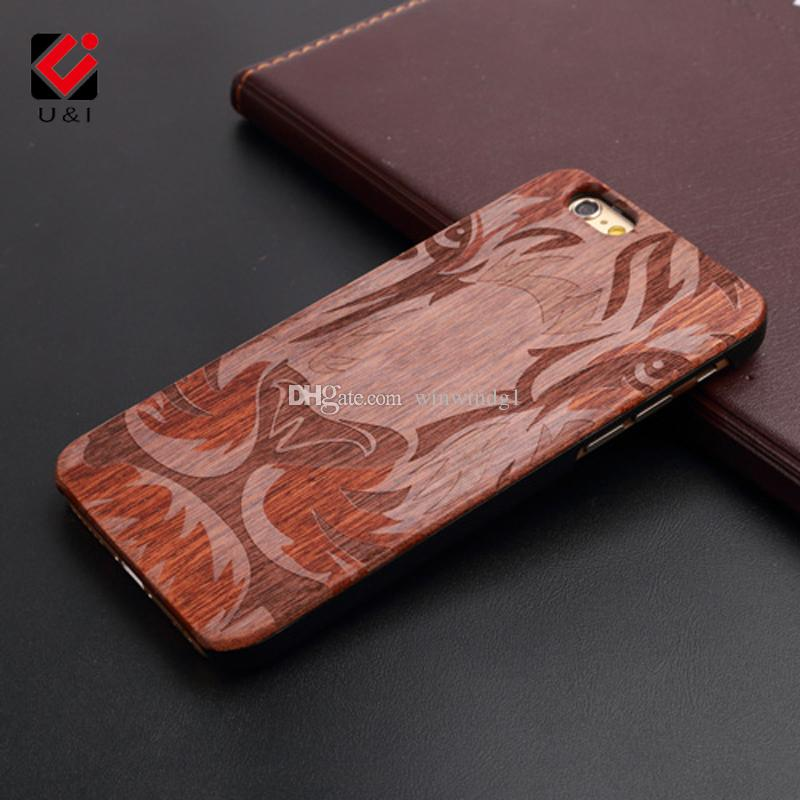 UI Cool Bible Pattern Brand New Rosewood Case For Iphone 6 6s Laser - rosewood case