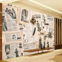 European Wall Mural Vintage Photo Wallpaper Custom 3d ...