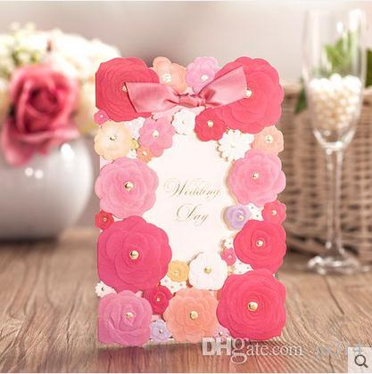 Dedicate Handmade Wedding Formal Invitation Card With Bow Creative - Best Of Handmade Formal Invitation Card
