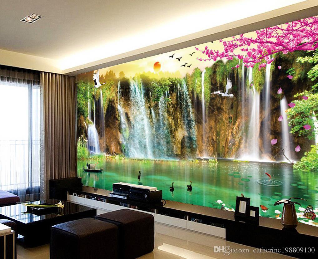 3d Wallpaper For Walls Australia Custom Any Size Scenery Wallpaper Tv Wall Mural 3d