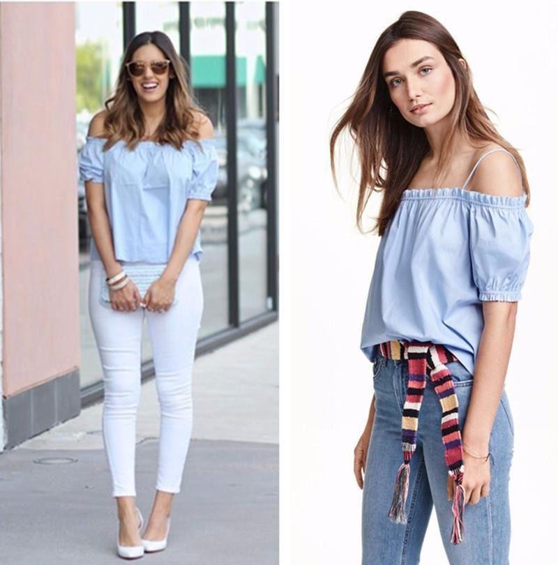 Cute Lockets Wallpaper 2018 Fashionable Striped Summer Women Tops Big Sizes New