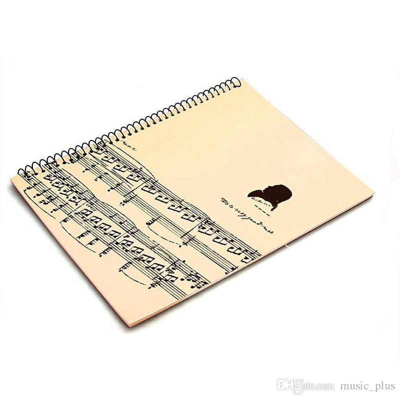 Blank Sheet Music Manuscript Paper Musicians Notebook Composition